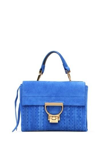Coccinelle Omuz Çantası Mavi